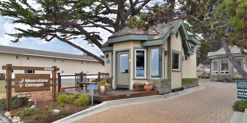 Moonstone Cottages By The Sea Cambria Ca Winecountry Com