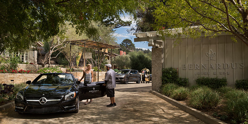 Bernardus Lodge Amp Spa Carmel Valley Ca Winecountry Com