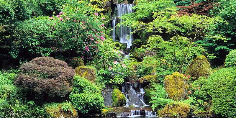 Portland Japanese Garden Portland Or Winecountry Com