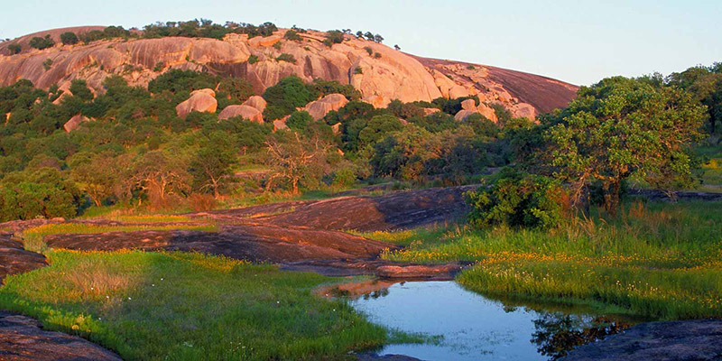 Enchanted Rock State Park Fredericksburg Tx