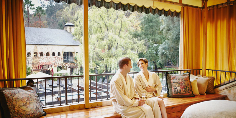 Kenwood Inn and Spa's TI-AMO Couples Package